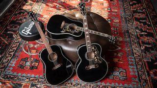 Gibson ebony acoustics