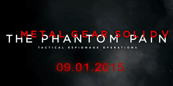 Metal Gear Solid 5: The Phantom Pain logo without Kojima