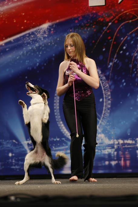 Britain's Got Talent: Piers bets on dog champ