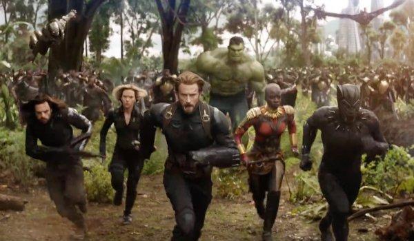 Avengers Wakanda infinity War