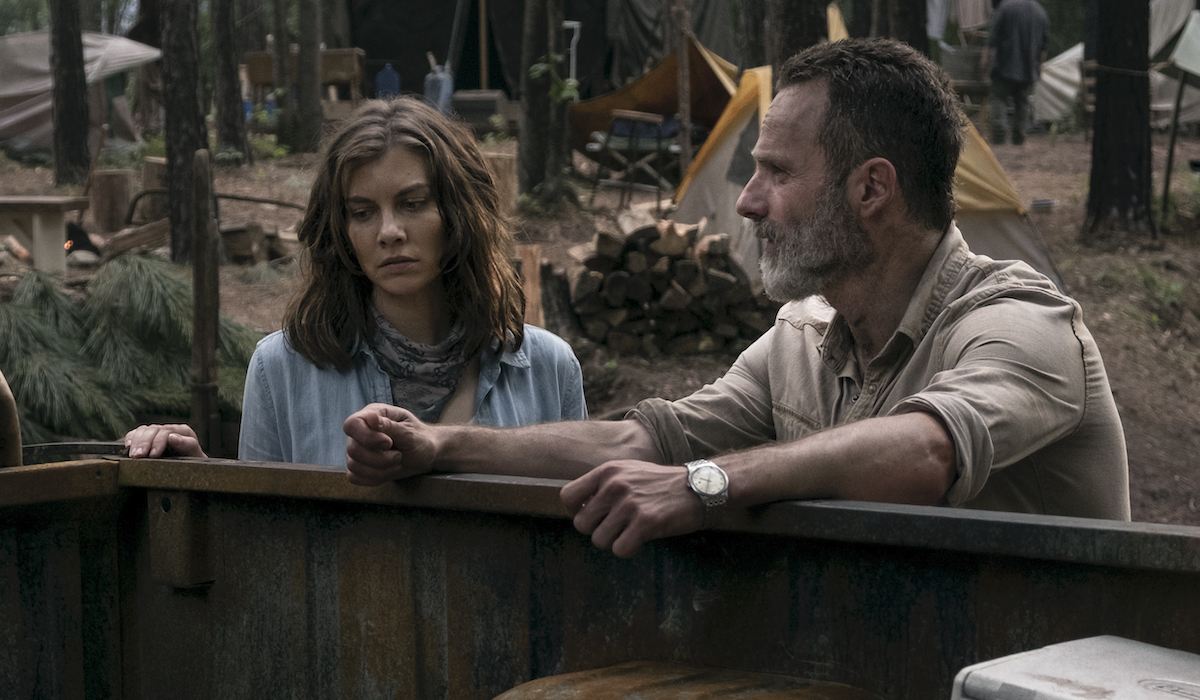 rick and maggie the walking dead season 9