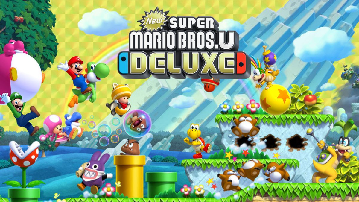New Super Mario Bros U Deluxe review: 2D Mario title gets