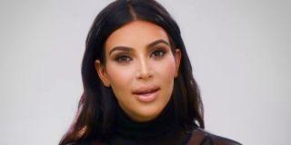 Kim Kardashian in a confessional