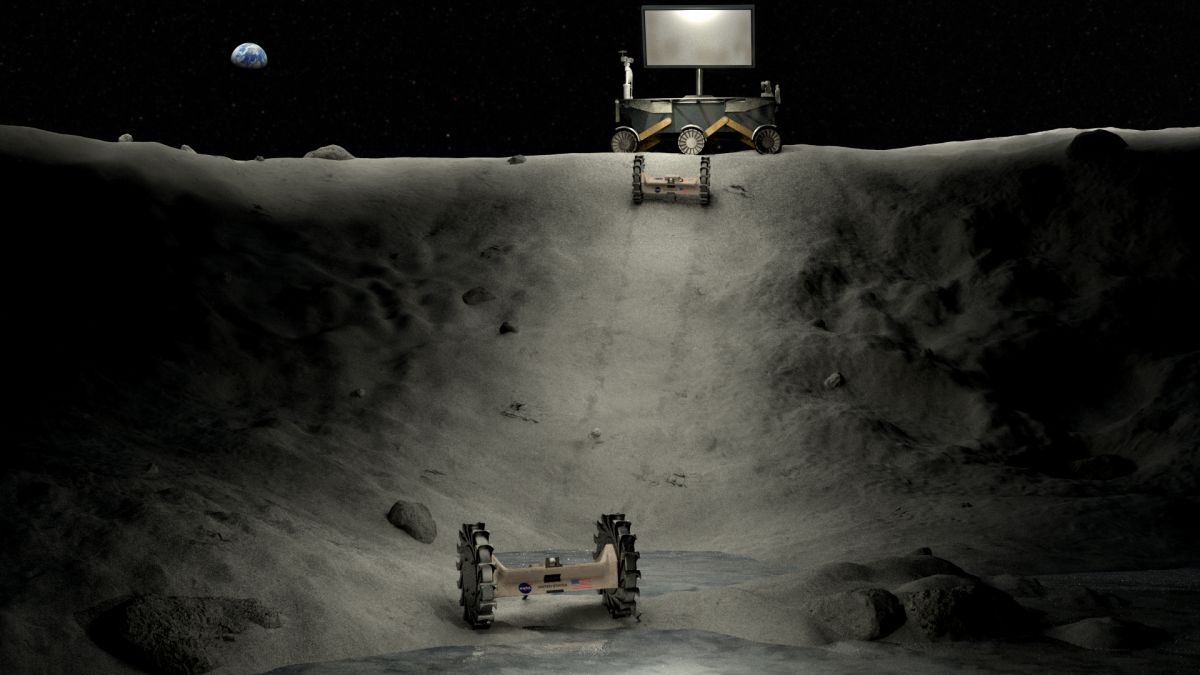 NASA picks moon catapults, lasers, electricity and other wild lunar projects for student contest