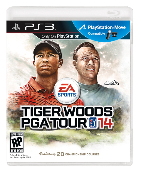 Tiger Woods PGA Tour 14 Features Arnold Palmer #24685