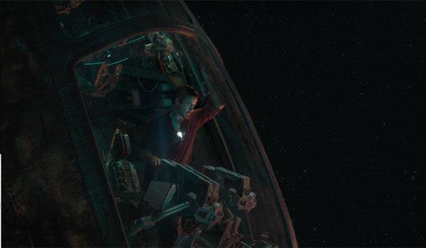 Tony Stark In Space Avengers: Endgame