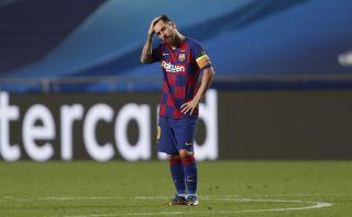 Champions League Barcelona, Leo Messi