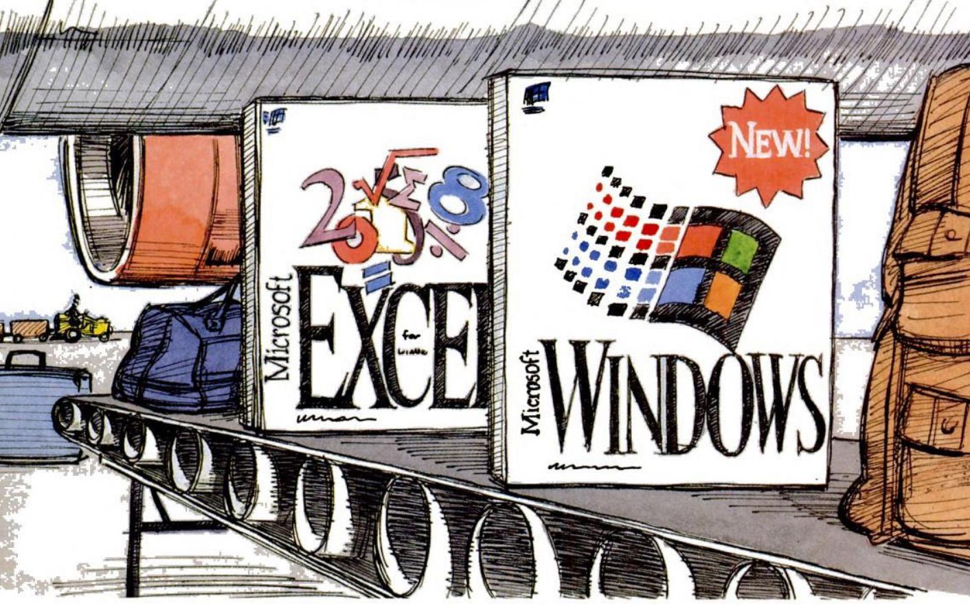 Windows 3.1 ad