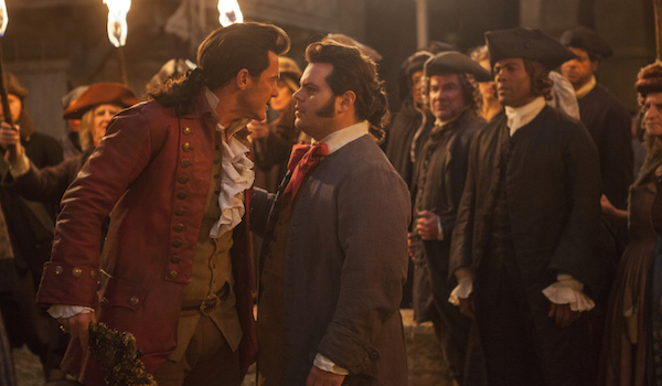 Gaston and LeFou arguing