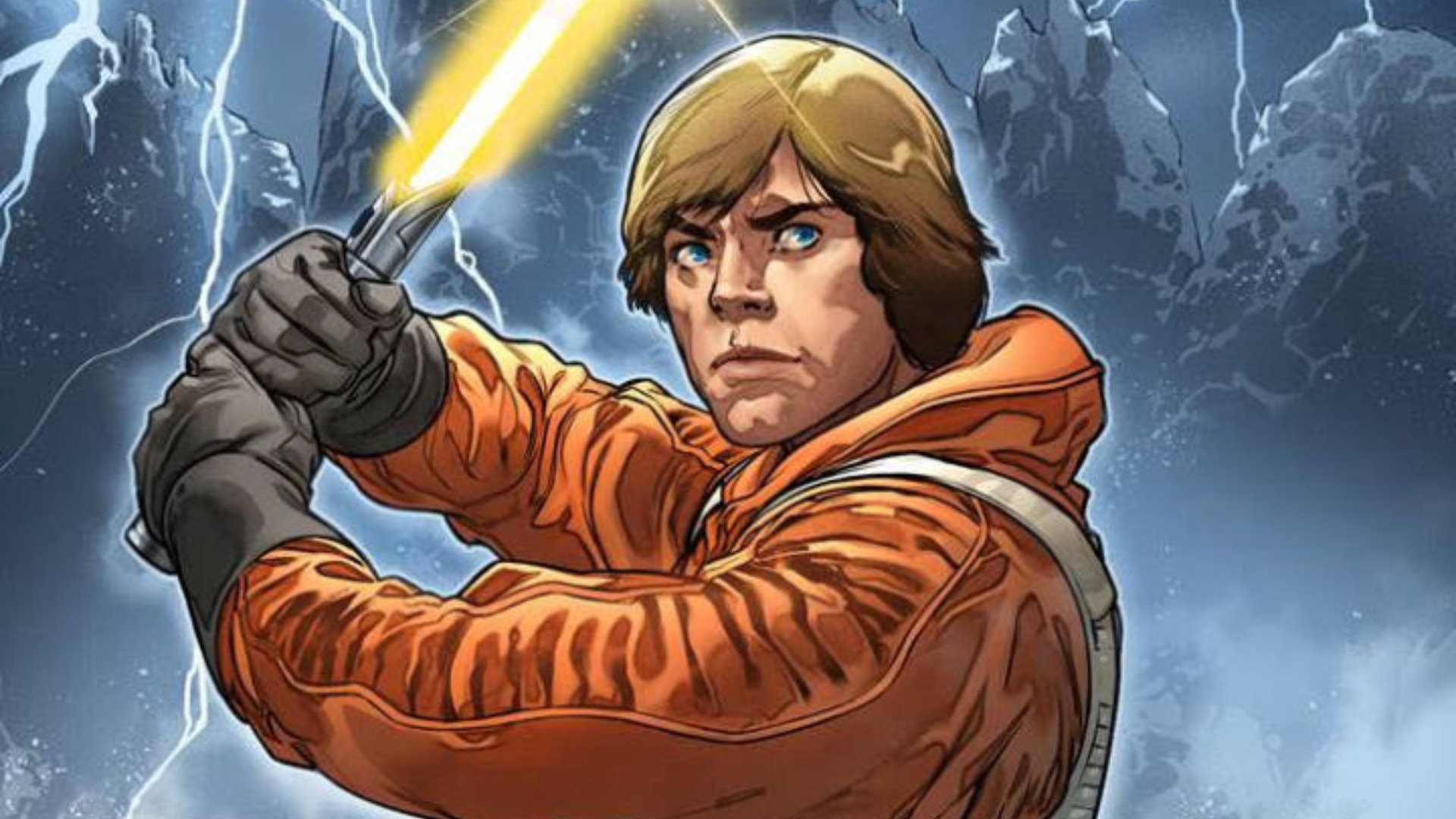 New Star Wars Comic Reveals Luke Skywalker S Yellow Lightsaber Gamesradar