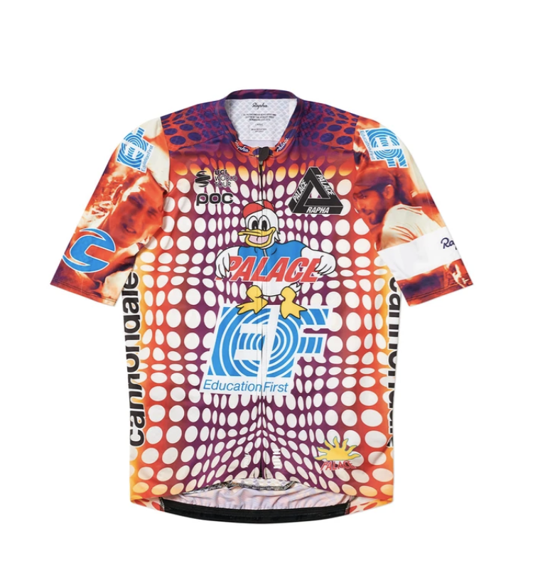 A limited-edition EF Pro Cycling x Palace jersey on eBay