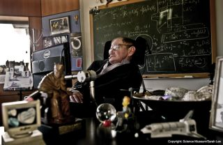 Stephen Hawking exhibition