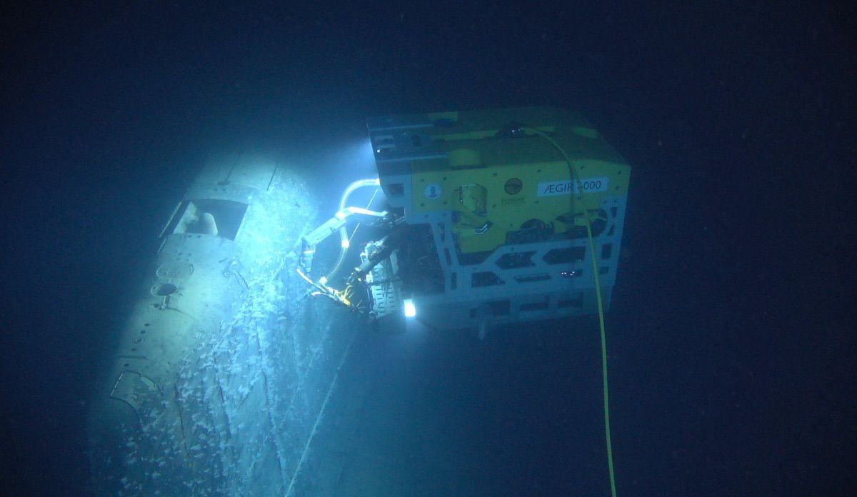 A Sunken Soviet Sub Is Raising the Radioactivity of the Norwegian Sea 800,000-Fold. But Don't Worry.