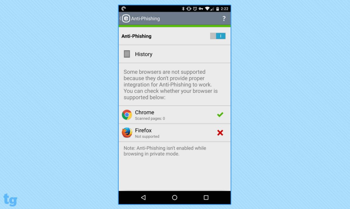 ESET Mobile Security and Antivirus Review | Tom's Guide