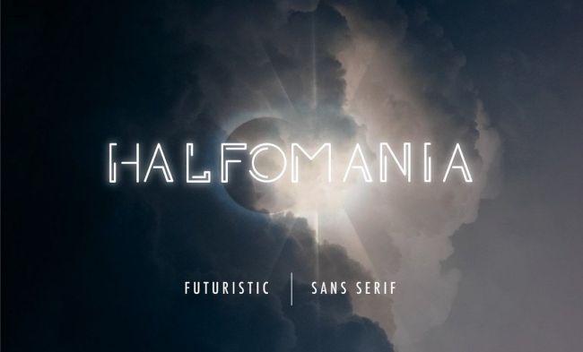 Cool fonts: Halfomania
