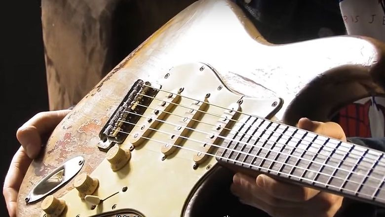 See Rory Gallagher's Famous Strat and Other Guitars Up Close