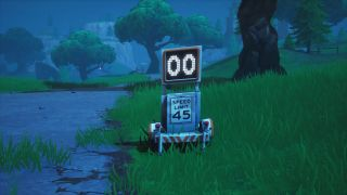 Fortnite Radar Signs - where to find them and record a speed