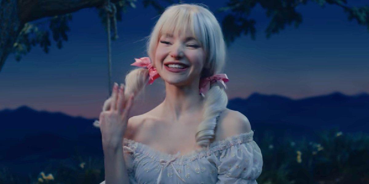 Dove Cameron in the trailer for Schmigadoon!