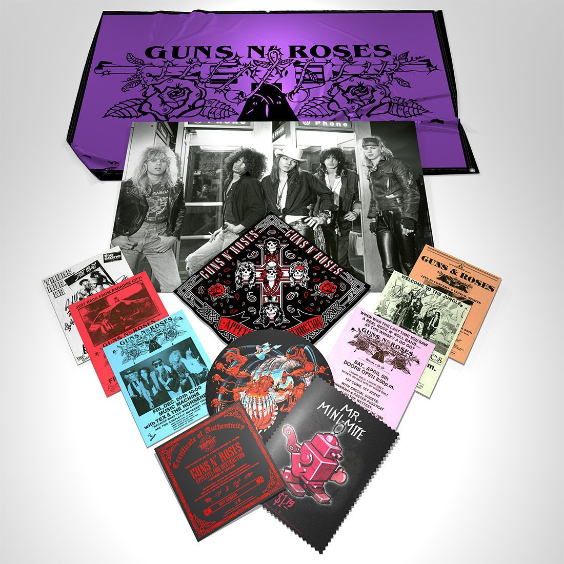 Guns N' Roses unleash massive $1000 Appetite For Destruction Locked