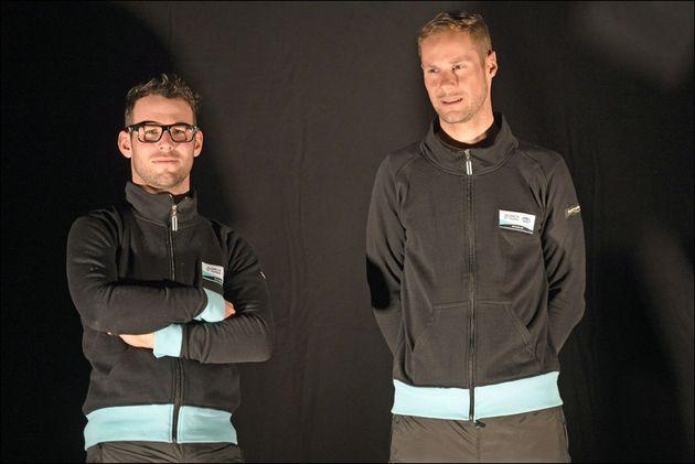 Mark Cavendish and Tom Boonen, Omega Pharma-QuickStep team presentation 2013