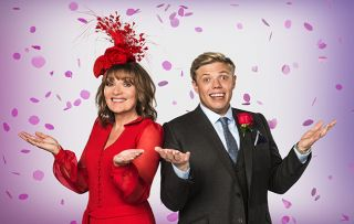 Wedding Day Winners Lorraine Kelly and Rob main