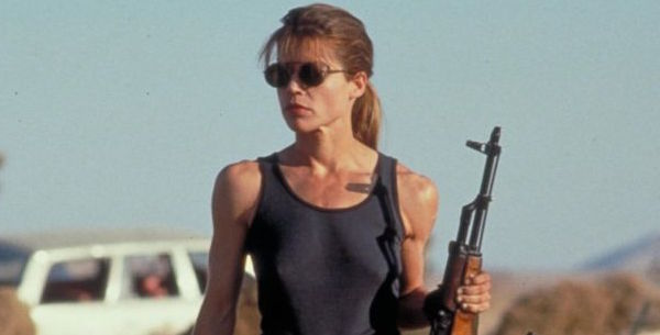 The First Look At Linda Hamilton In Terminator 6 Is Totally Badass