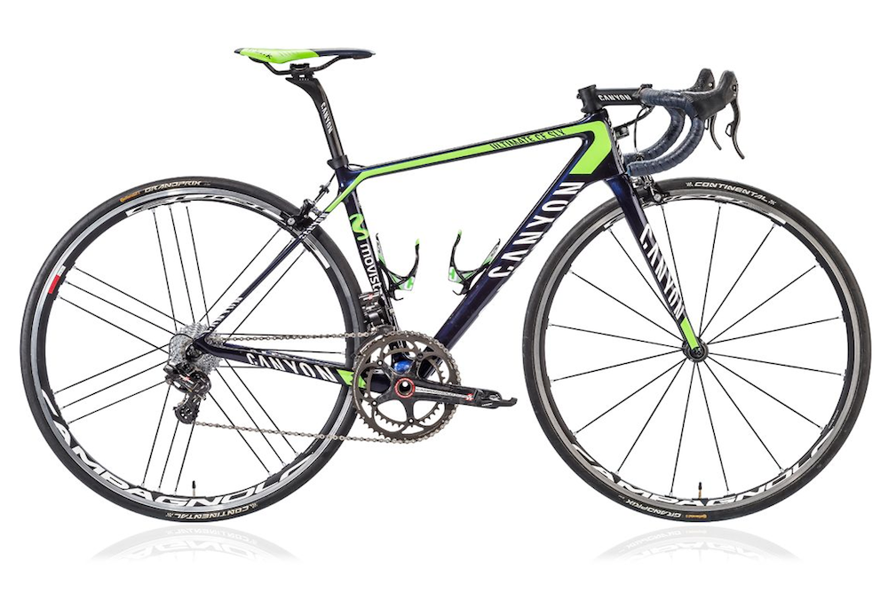 For sale: Canyon bikes ridden by Nairo Quintana and Alex