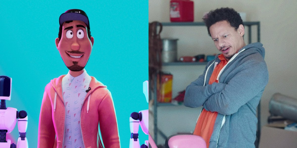Dr. Mark Bowman in The Mitchells vs. the Machines; Eric Andre in Bad Trip