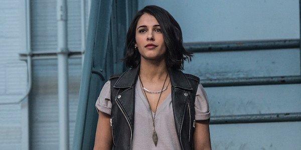 Naomi Scott as Kimberly in Power Rangers