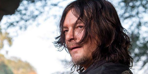 Norman Reedus as Daryl Dixon on The Walking Dead Season 9 AMC