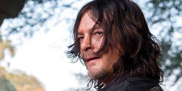 Norman Reedus as Daryl Dixon on The Walking Dead Season 9 AMC