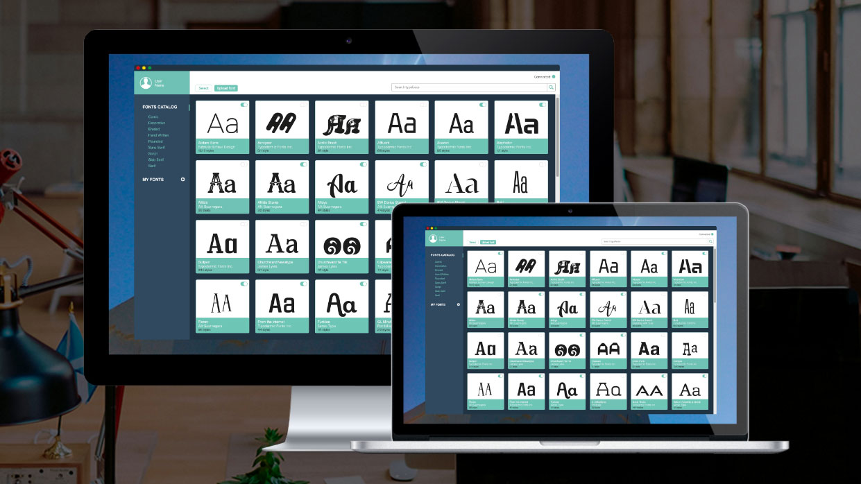 Spotify for typographers font library launches