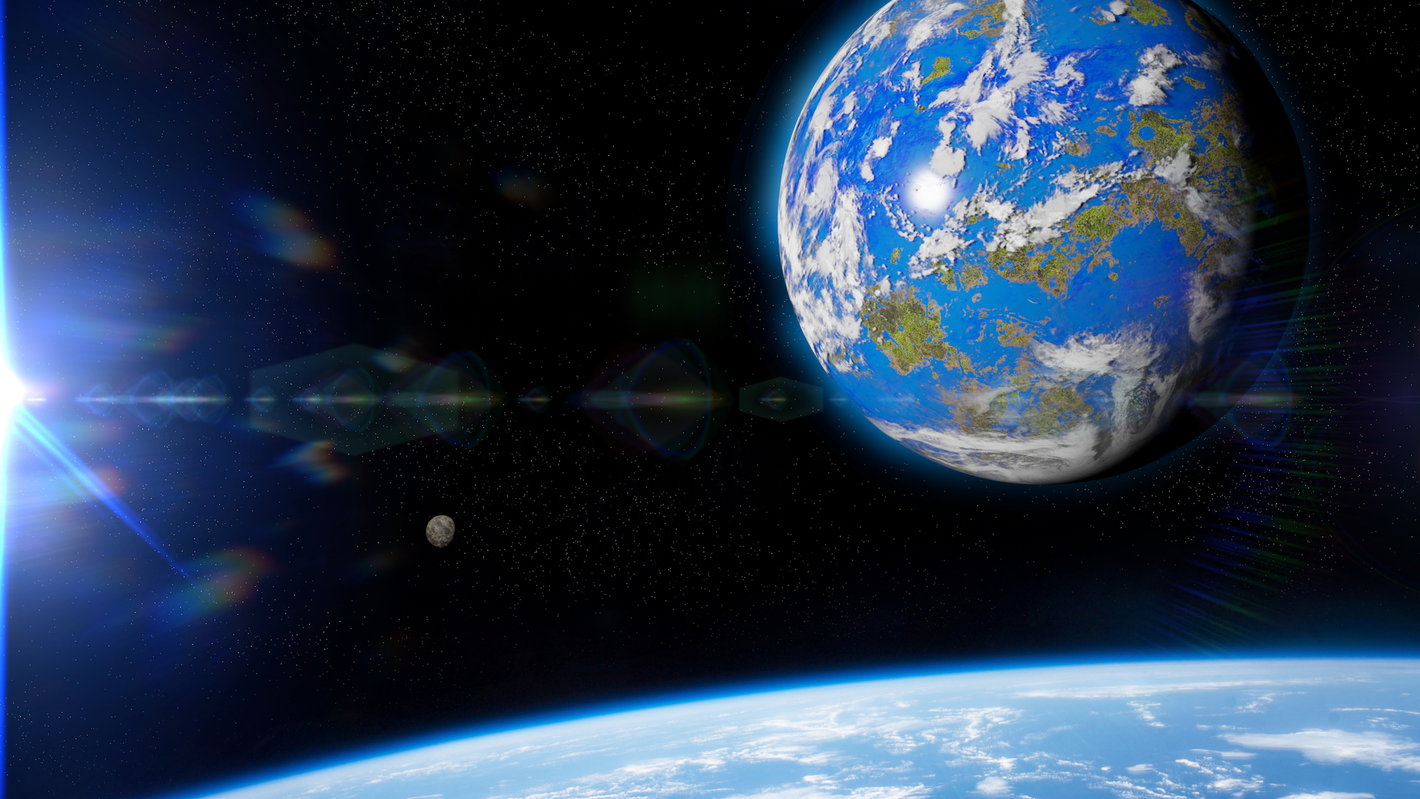 If Earth Grew 10x, you'd be Half as Tall