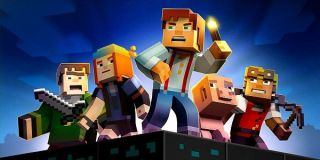 The cast of Minecraft: Story Mode.