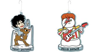 A Very New Wave Christmas decoration set