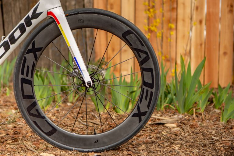 Cadex 65mm Tubeless Disc Front Wheel