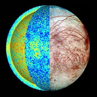 Europa Hidden Ocean Model 1