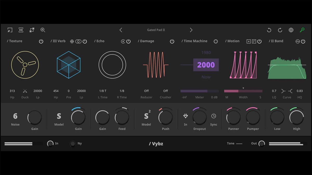 Vybz is a one-stop lo-fi effect plugin that offers multiple ways to colour your sound