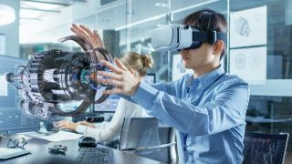 VR aided design