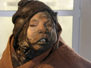 Mummy of a 7-year-old boy in Argentina.