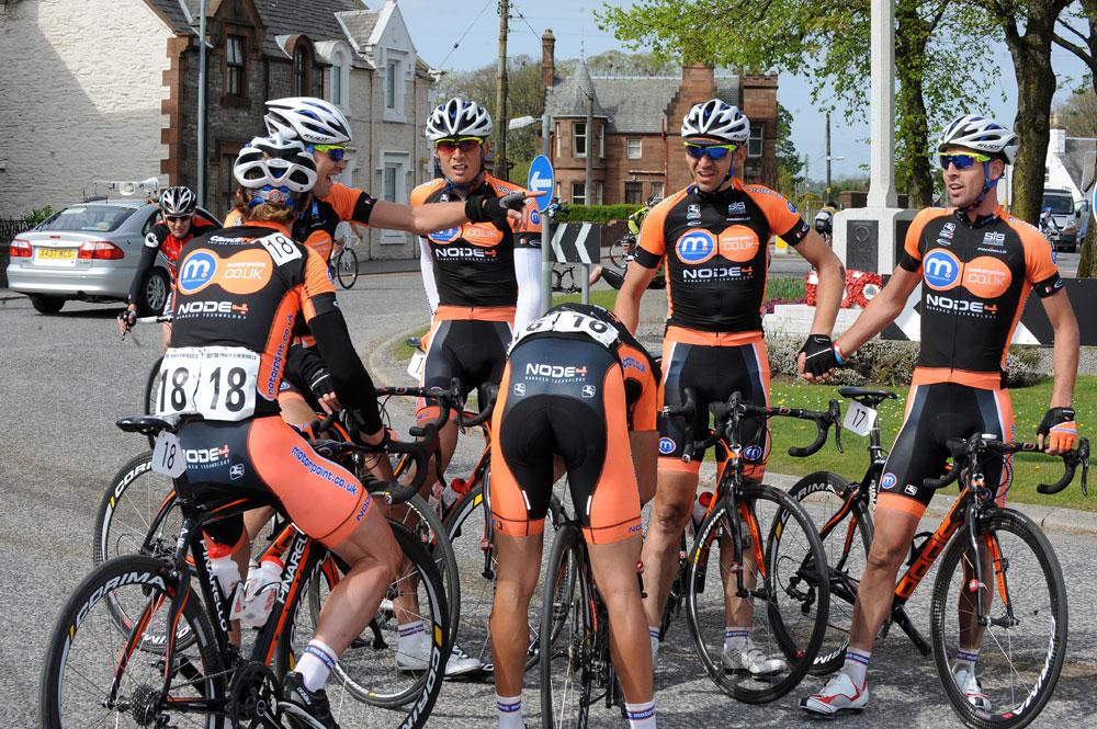 Motorpoint team, Tour DoonHame 2011, stage three
