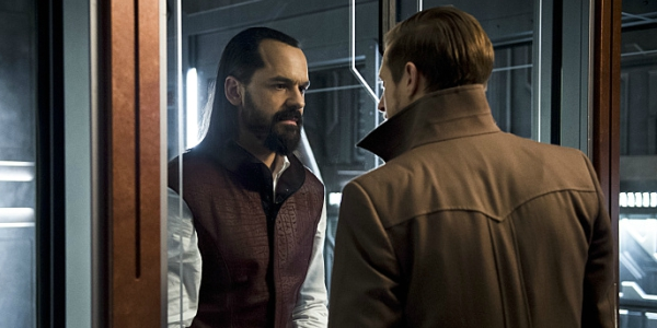 Vandal Savage and Rip Hunter in Legends of Tomorrow
