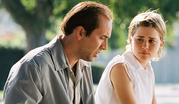 Matchstick Men Nicolas Cage Allison Lohman father daughter moment