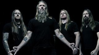 A promotional picture of Amon Amarth