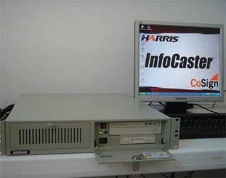 Harris Infocaster Digital Signage System