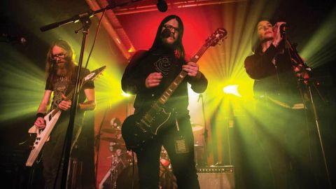 Crippled Black Phoenix on stage