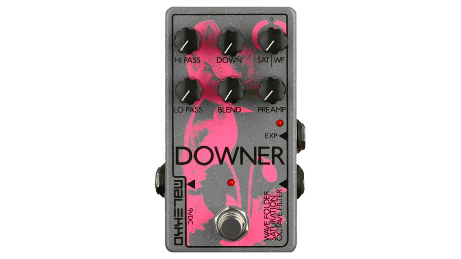 malekko u2019s downer pedal will turn your guitar into a raging fuzz synth
