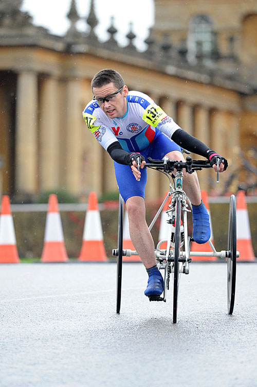 Carl Saint, Trike TT world champ, Bike Blenheim Palace 2010