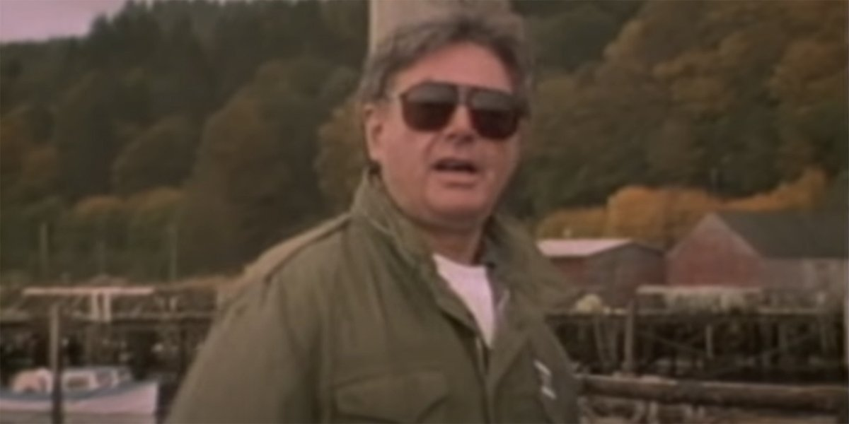 Richard Donner in the making of The Goonies