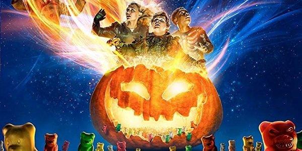 Goosebumps 2: Haunted Halloween unleashing magic into the Halloween night